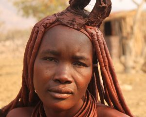 Himbafrau in Namibia