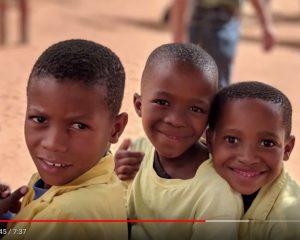 Steps for children in Namibia gibt Kindern eine Zukunft