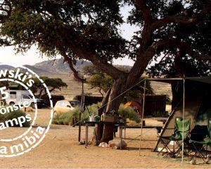 Die schönsten Campingplätze in Namibia