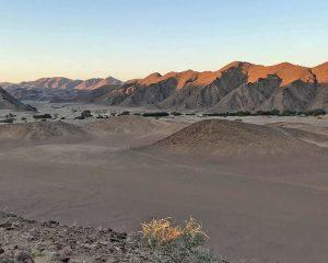 Das Hoanib Valley Camp - eine Oase im Nordwesten Namibias