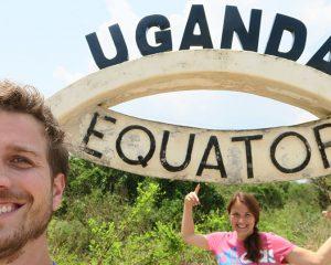 Saskia und Benni unterwegs in Uganda