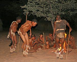 Die San in Namibia