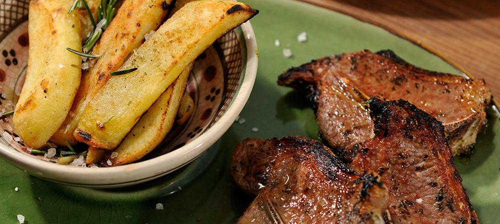 Afrikanisches Steak und Pommes Frites - Iwanowskis Afrika-Blog