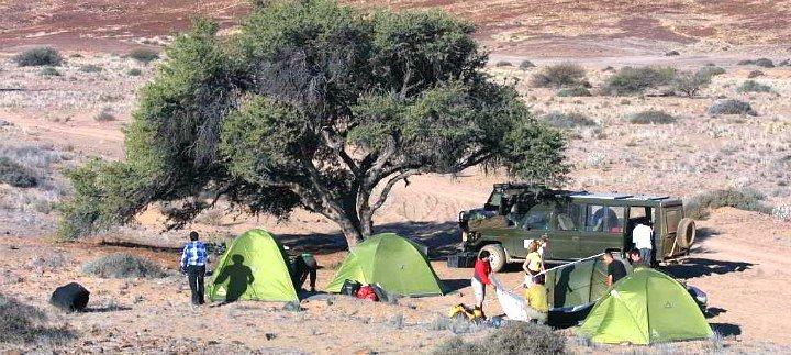 Campingsafari-Zelte in Afrika - Iwanowskis Reisen