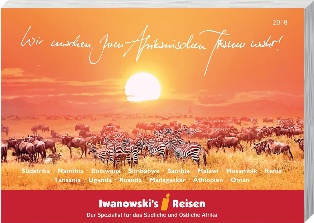 Afrika-Reisen Katalog 2018