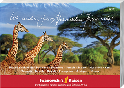 Afrika-Reisen Katalog 2019