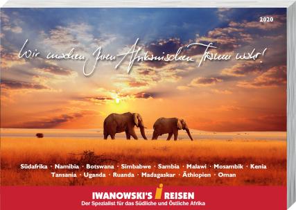 Afrika-Reisen Katalog 2020