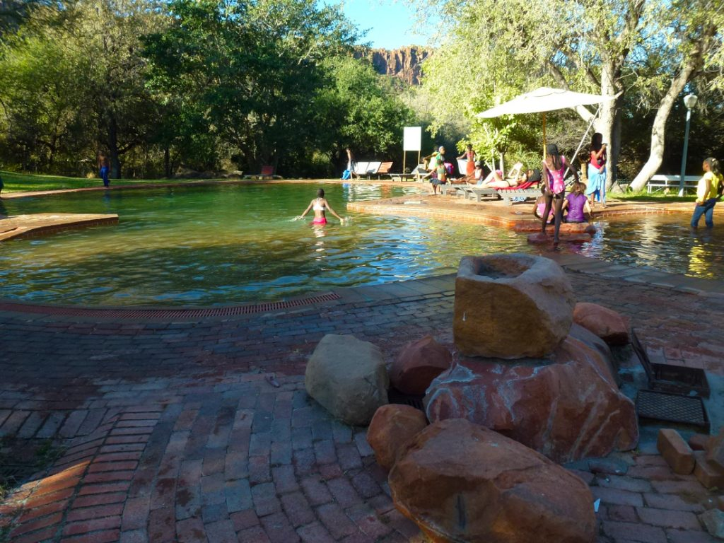 Namibia Waterberg Rest Camp Pool Iwanowskis Reisen - afrika.de