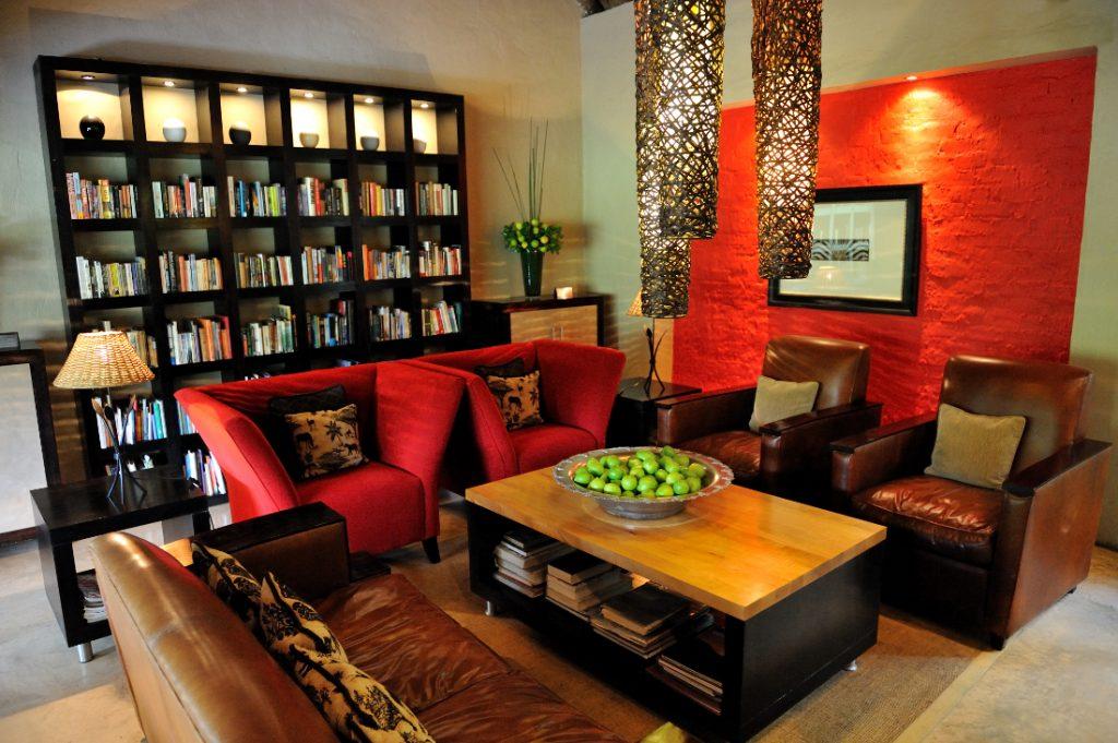 Südafrika Eastern Cape Addo Woodall Country House Lounge Iwanowskis Reisen - afrika.de