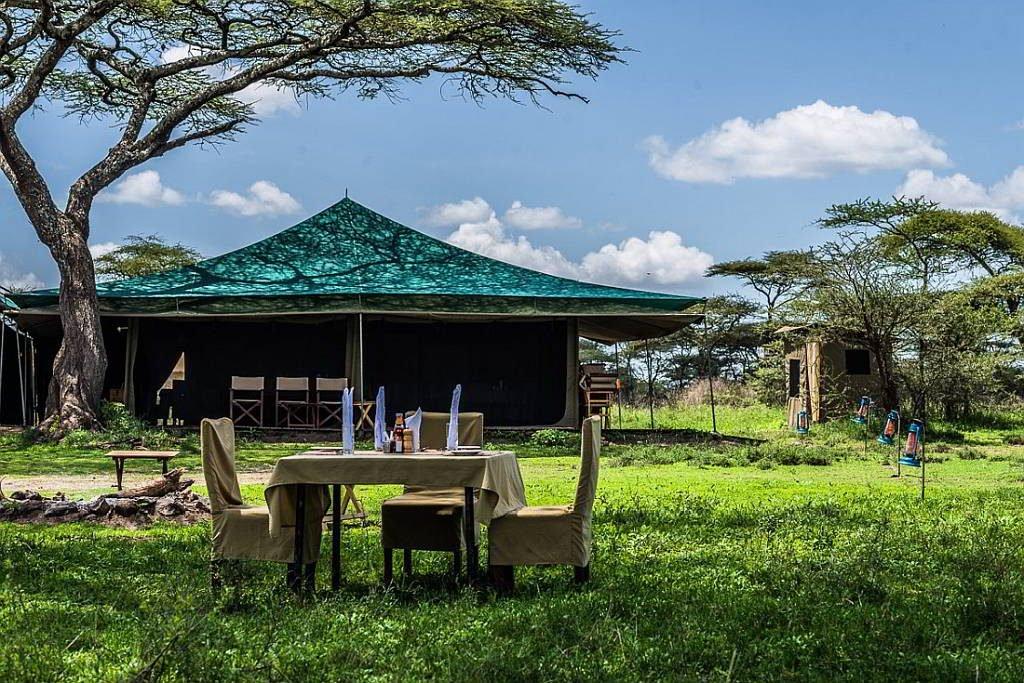 Angata Migration Camp Garten - afrika.de Iwanowskis Individuelles Reisen