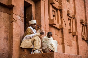 Äthiopien Lalibela Felsenkirche Iwanowskis Reisen - afrika.de