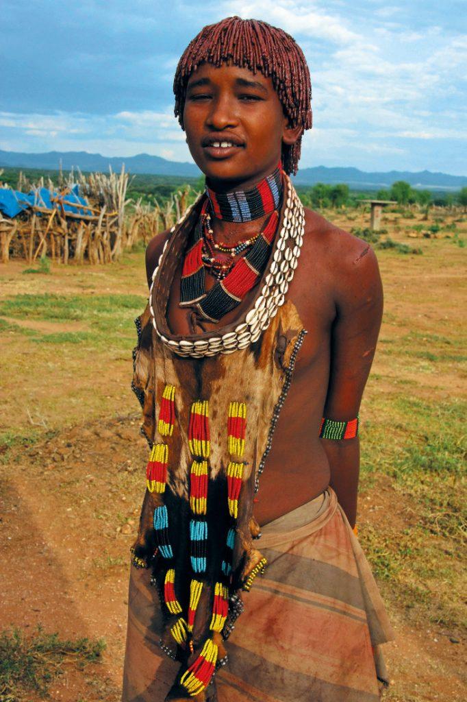 Äthiopien Turmi Hamer Frau Iwanowskis Reisen - afrika.de