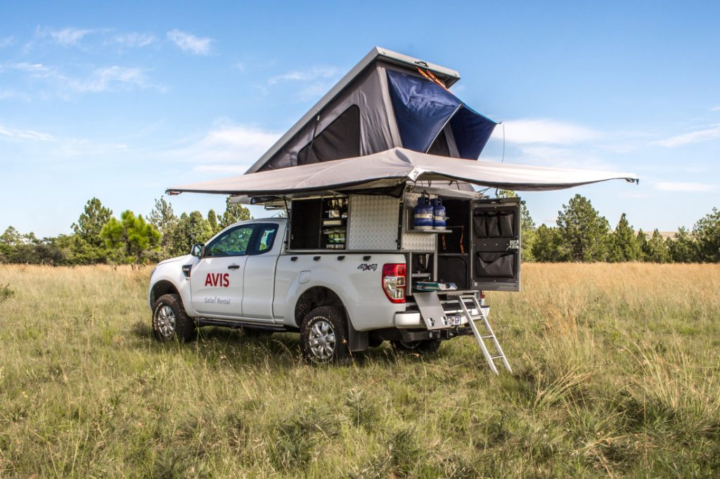 Avis 4x4 mit Ausstattung Südafrika Namibia und Botswana mieten bei Iwanowski's Reisen - afrika.de