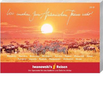 Afrika Katalog 2018 Iwanowskis Reisen - afrika.de
