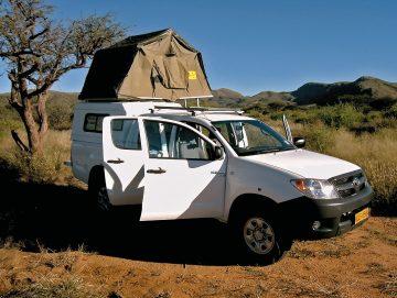 Bidvest 4x4 mit Ausstattung Namibia und Botswana mieten bei Iwanowski's Reisen - afrika.de