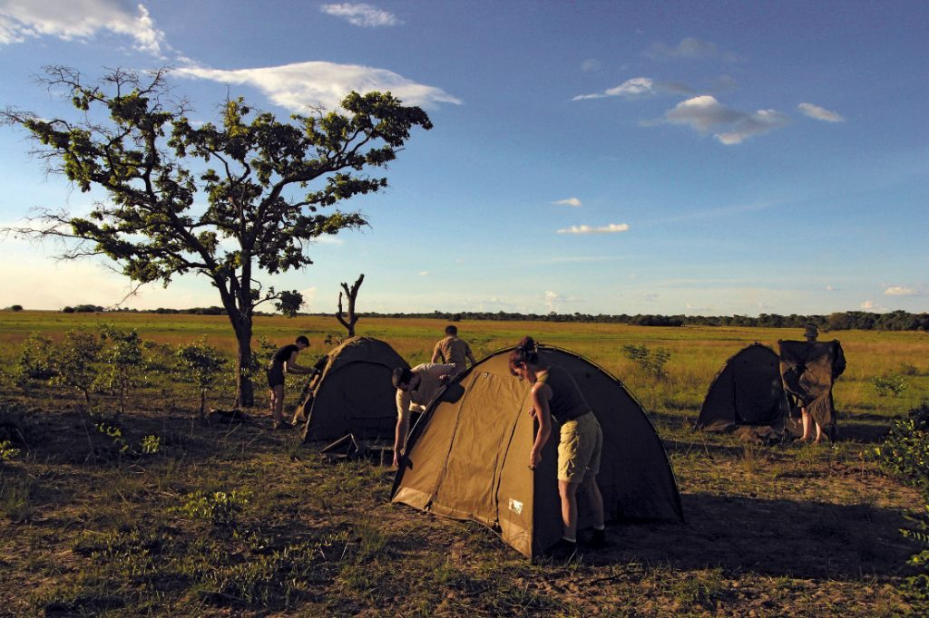 Botswana Bushways Camping Zeltcamp Iwanowskis Reisen - afrika.de