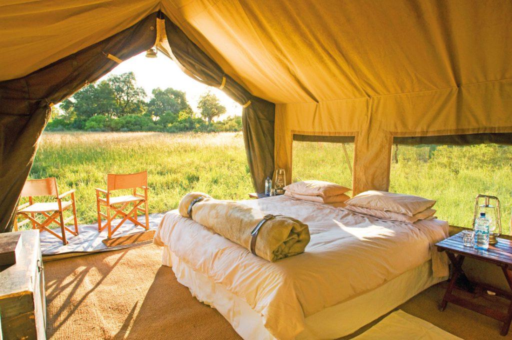 Botswana Chobe National Park Chobe under Canvas Safarizelt Iwanowskis Reisen - afrika.de