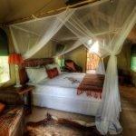 Botswana Kalahari Dinaka Safari Lodge Unterkunft Iwanowskis Reisen - afrika.de