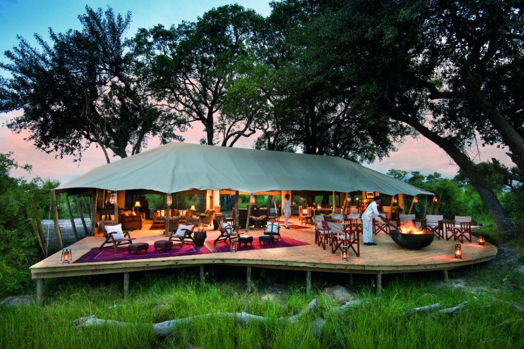 Botswana Okavango Delta Duba Expeditions Camp Iwanowskis Reisen - afrika.de