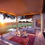 Botswana Okavango Delta Duba Plains Camp Luxus Zeltunterkunft Iwanowskis Reisen - afrika.de