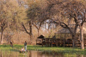 Botswana Khwai Tented Camp Mokorofahrt Iwanowskis Reisen - afrika.de