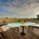 Botswana Linyanti Lebala Camp Pool Iwanowskis Reisen - afrika.de