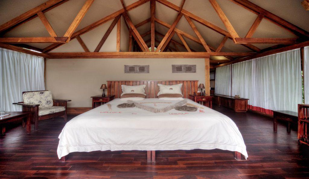 Botswana Linyanti Lebala Camp Unterkunft Iwanowskis Reisen - afrika.de