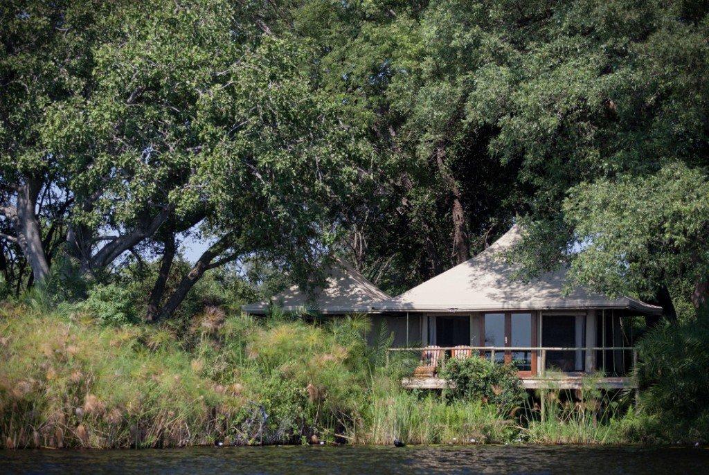 Botswana Okavango Delta Mopiri Tented Camp Iwanowskis Reisen - afrika.de