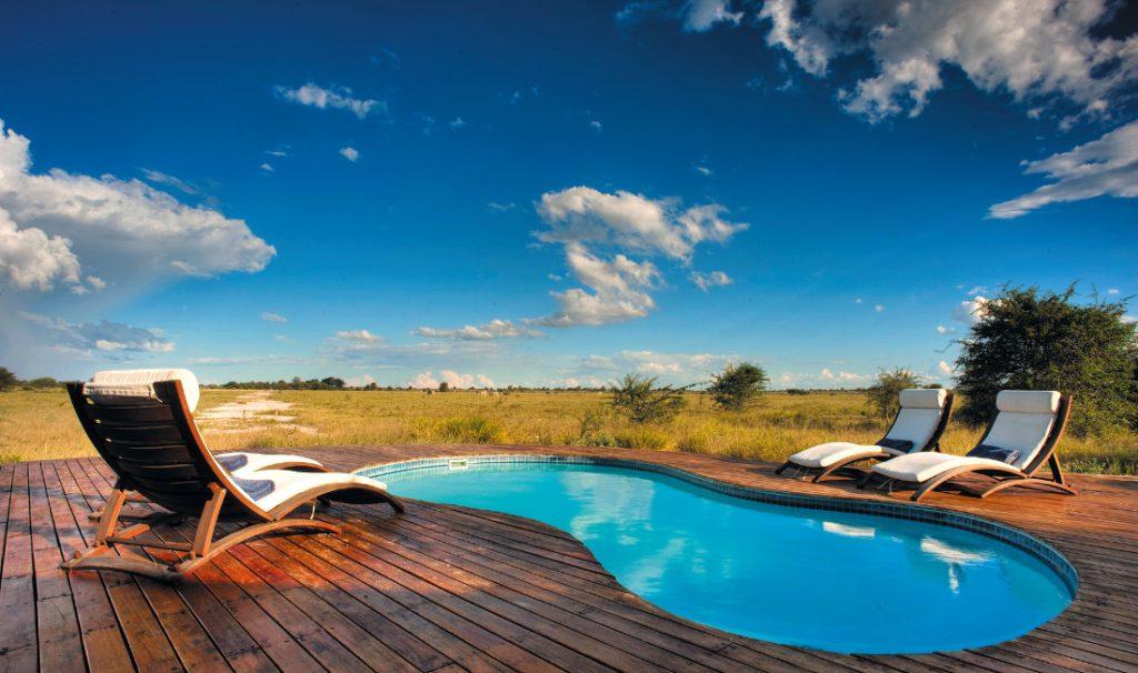 Botswana Nxai Pan National Park Nxai Pan Pool Iwanowskis Reisen - afrika.de