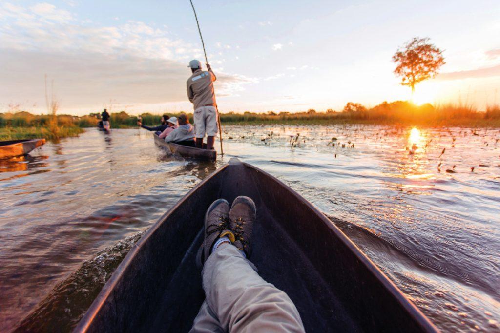Botswana Okavango Delta Nomad Safaris Iwanowskis Reisen - afrika.de