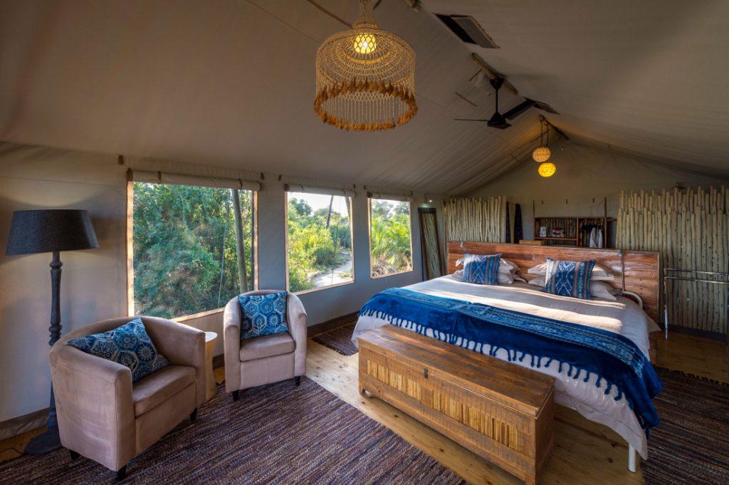 Botswana Okavango Delta Pelo Camp Zeltunterkunft Iwanowskis Reisen - afrika.de