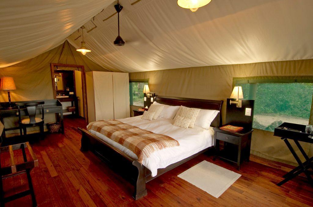 Botswana Okavango Delta Stanley's Camp Zeltunterkunft Iwanowskis Reisen - afrika.de