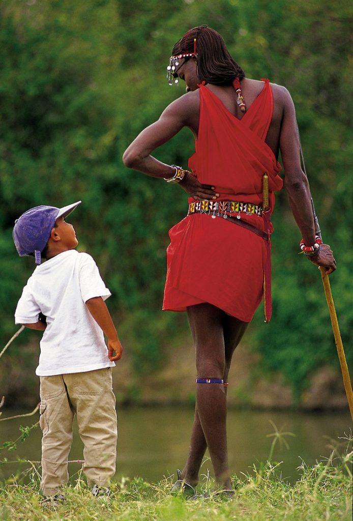 Kenia Safari Familiensafari Kinder Begegnung Iwanowskis Reisen - afrika.de