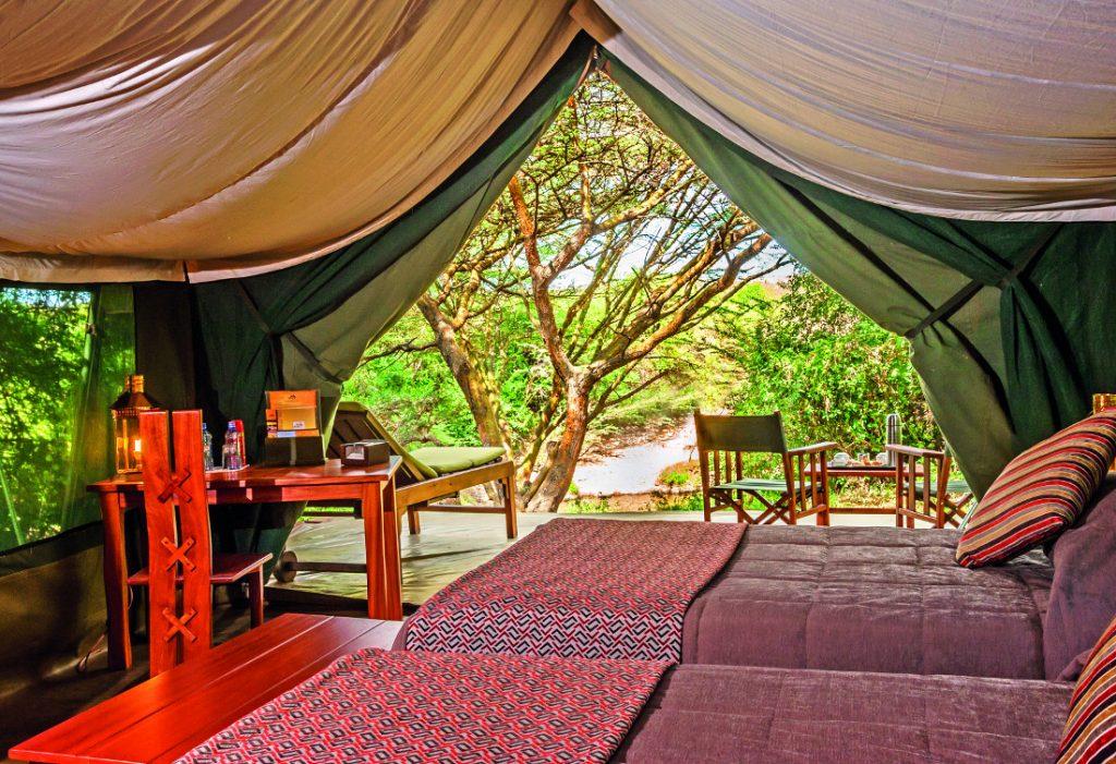 Kenia Masai Mara Ilkeliani Camp Zeltunterkunft Iwanowskis Reisen - afrika.de