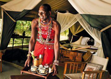 Kenia Masai Mara Mara Bush Camp Safarizelt Iwanowskis Reisen - afrika.de