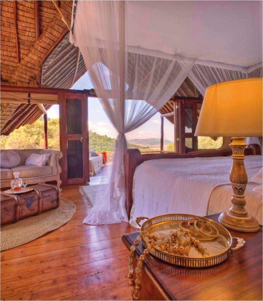 Kenia Masai Mara National Park Saruni Mara Lodge Zimmer Iwanowskis Reisen - afrika.de