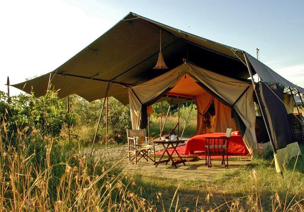 Kenia Mara Siria Camp Zeltunterkunft Iwanowskis Reisen - afrika.de