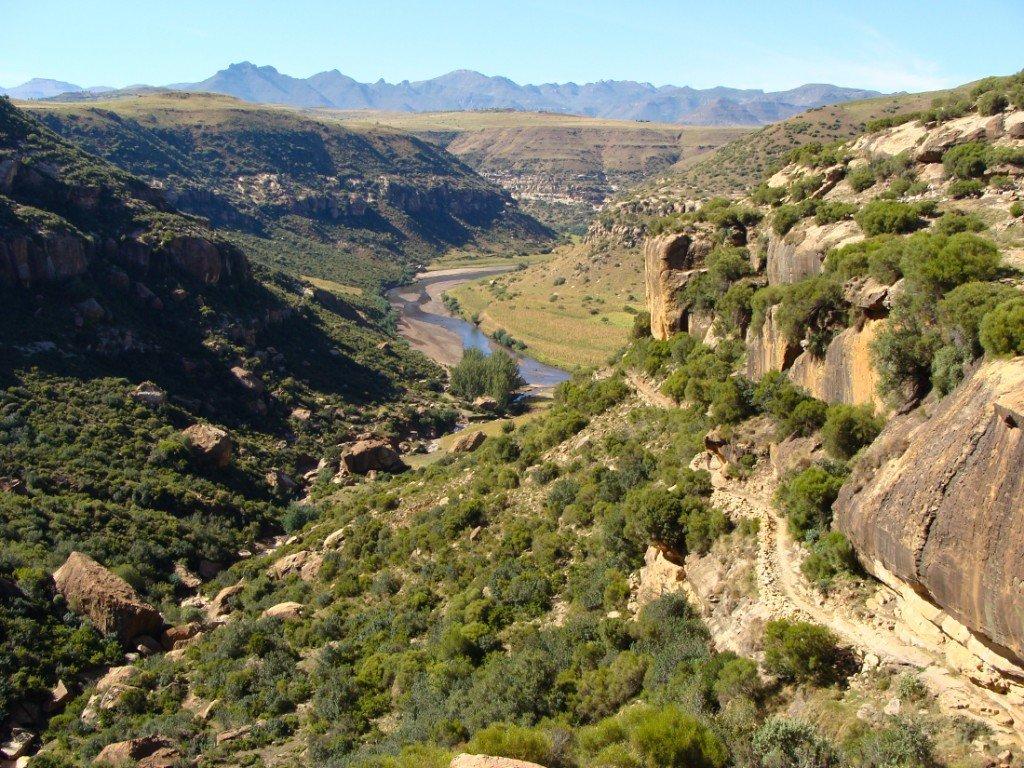 Lesotho Königreich Malealea Walk Iwanowskis Reisen - afrika.de