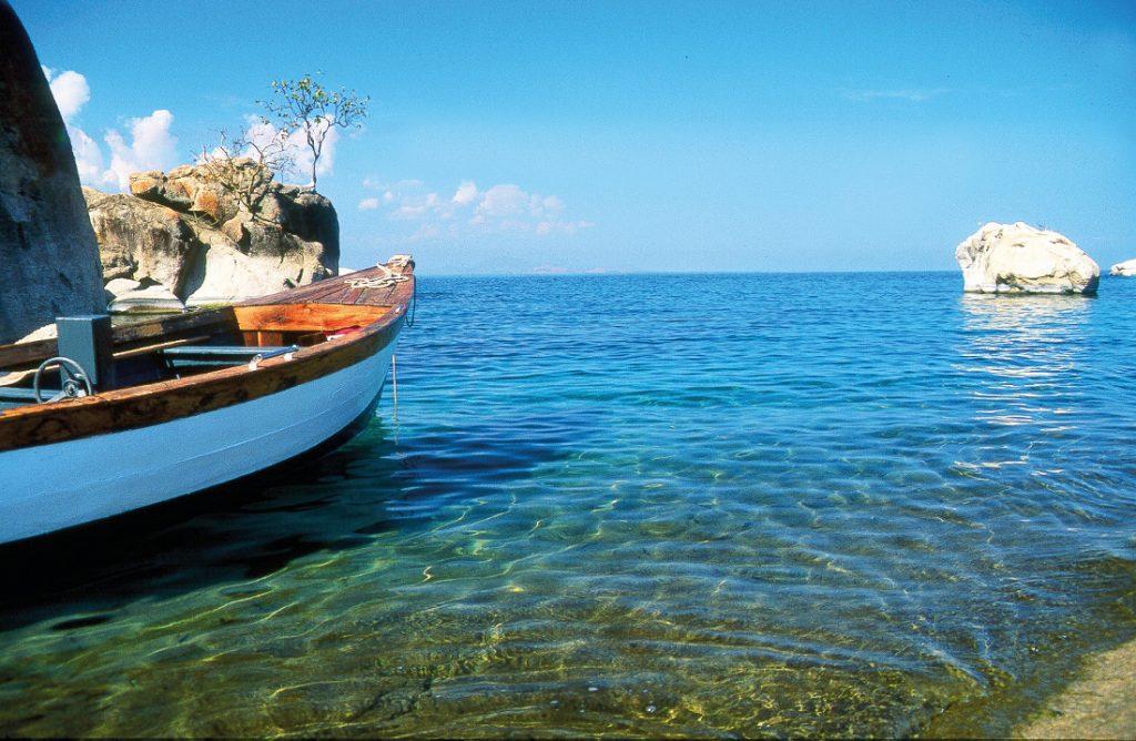 Malwai Lake Malawi Boot Iwanowskis Reisen - afrika.de
