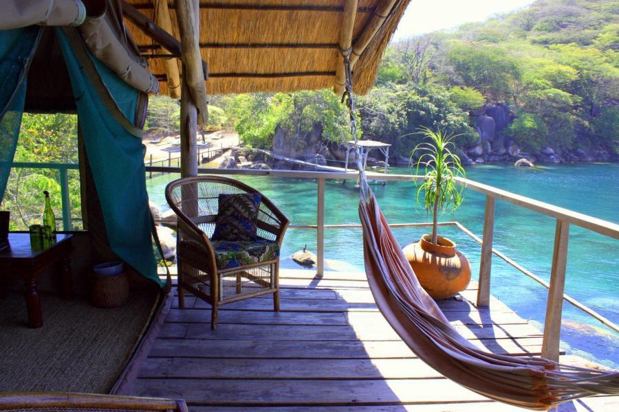 Malawi Cape Maclear Mombo Island Camp Iwanowskis Reisen - afrika.de