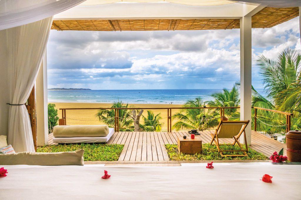 Mosambik Praia do Tofo Baia Sonumbula Guesthouse Iwanowskis Reisen - afrika.de