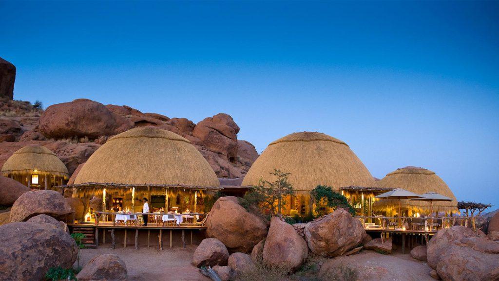 Namibia Twyfelfontein Camp Kipwe Iwanowskis Reisen - afrika.de