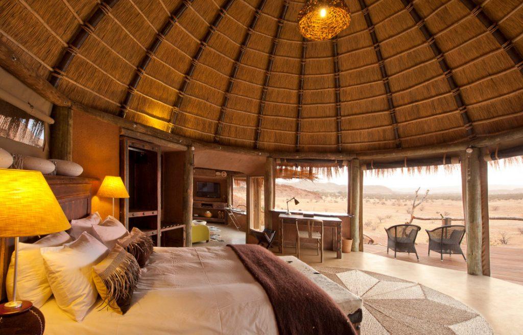 Namibia Twyfelfontein Camp Kipwe Unterkunft Iwanowskis Reisen - afrika.de