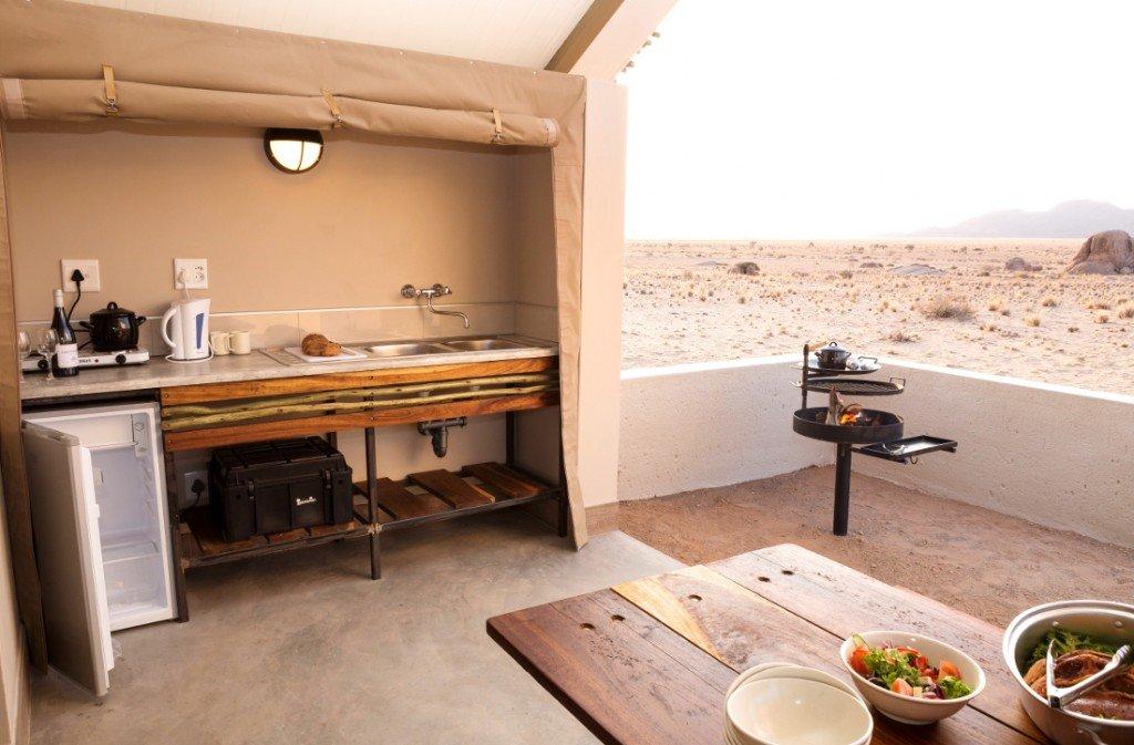 Namibia Sossusvlei Desert Quiver Camp Selbstversorger Chalet Iwanowskis Reisen - afrika.de