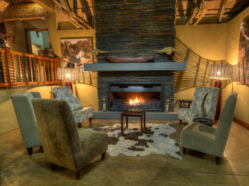 Namibia Divava Lodge Lounge