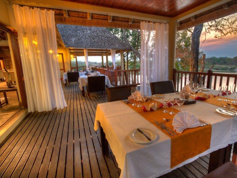 Namibia Divava Lodge Terrasse