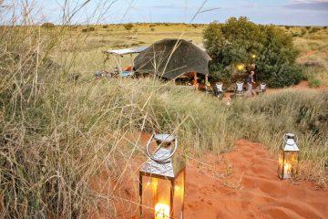 Namibia Trans Kalahari Walk Wanderung Dunes Camp Iwanowskis Reisen - afrika.de