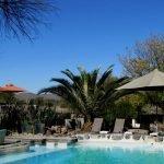Namibia Okahandija Elegant Farmstead Pool Iwanowskis Reisen - afrika.de
