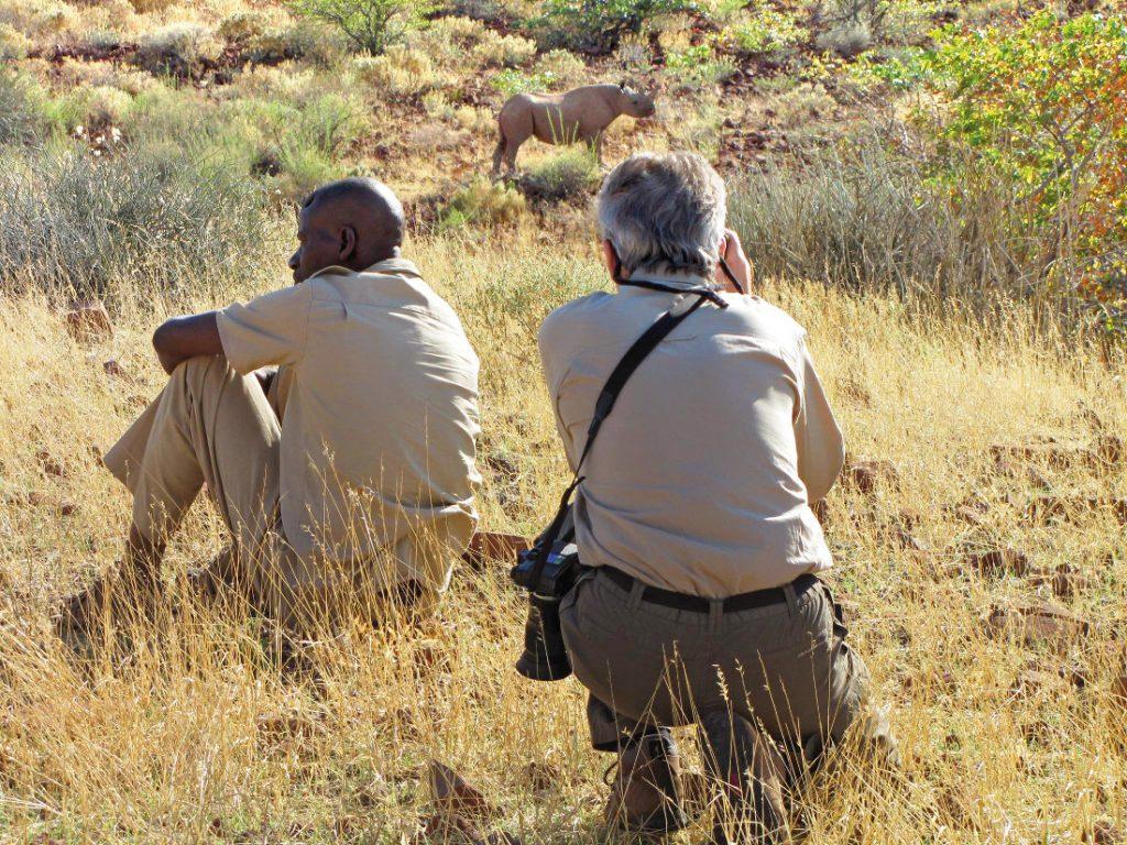 Namibia Kaokoveld Expedition Nashorn Tracking Iwanowskis Reisen - afrika.de