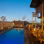 Namibia Fish River Canyon Lodge Terrasse Pool Iwanowskis Reisen - afrika.de